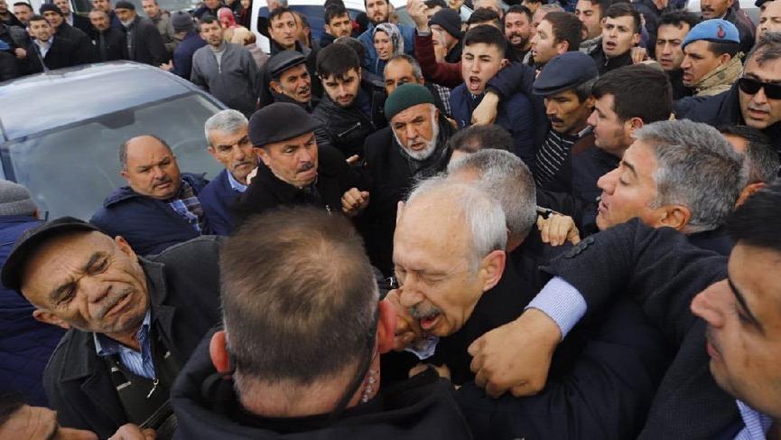CHP, Kılıçdaroğlu'na yönelik saldırıyı raporlaştırdı
