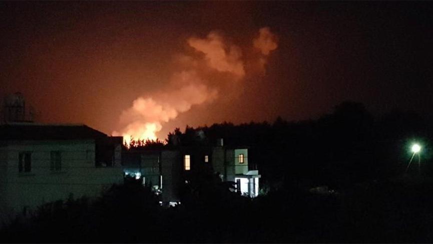 Son Dakika... KKTC'de askeri bölgede art arda patlamalar meydana geldi