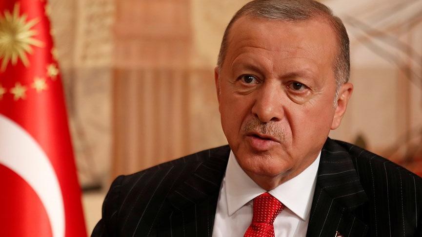 Cumhurbaşkanı Erdoğan Reuters'e konuştu
