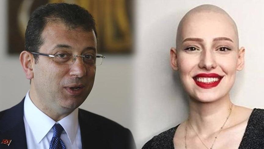 İmamoğlu'ndan 'Neslican' paylaşımı: 'Kanser değil, sen güçlüsün'