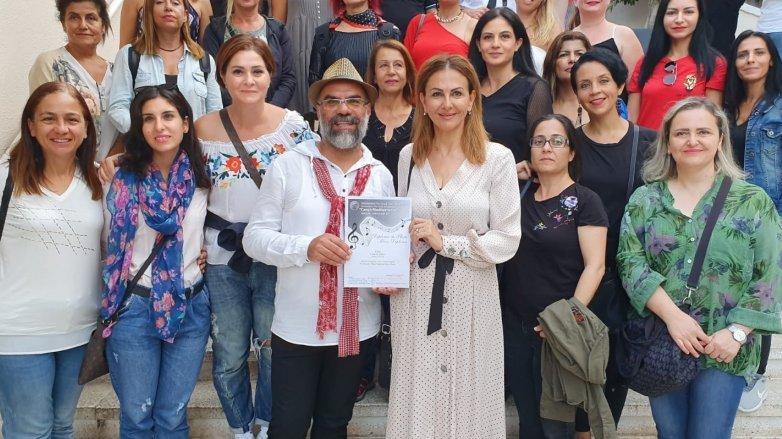 Kıbrıs Polifonik Korolar Derneği Otello Çoksesli Korosu'nun büyük başarısı
