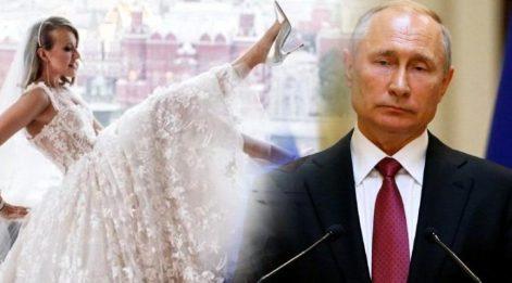Vladimir Putin'in manevi kızı kendi düğününde striptiz yaptı