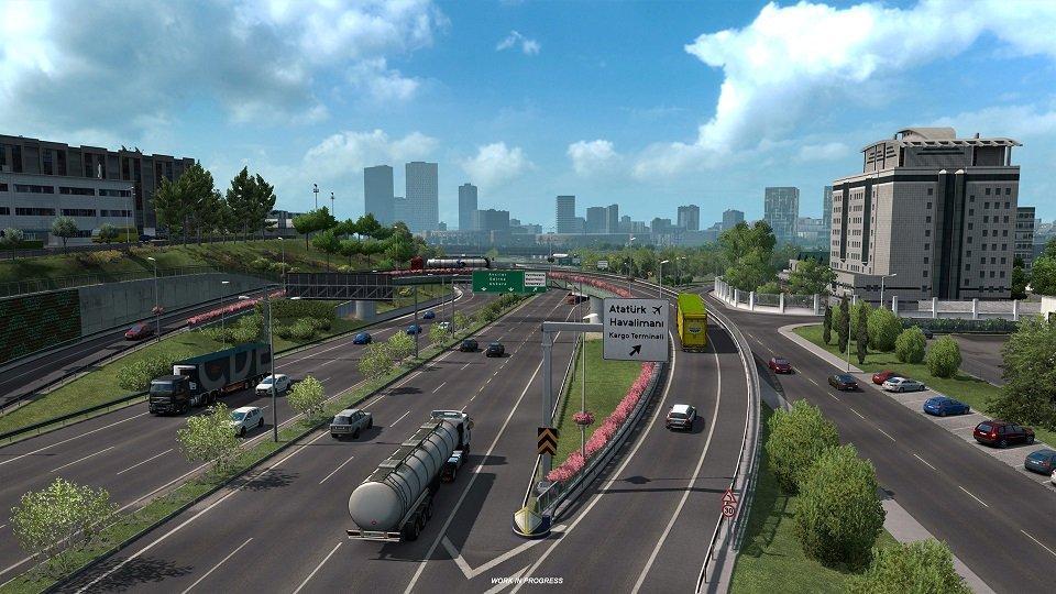 Bu oyunda İstanbul ve Edirne var! Euro Truck Simulator 2 ek paketi yolda...