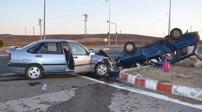 Kayseri'de feci kaza: 8 yaralı