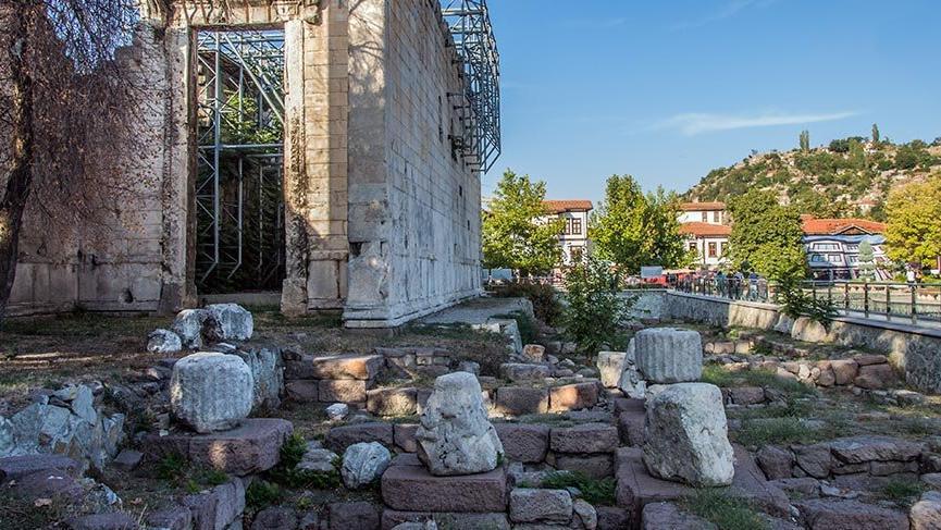 Ankara'nın binlerce yıllık Augustus Tapınağı - Seyahat haberleri