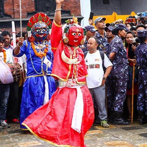 Musonların bitişinin kutlandığı festival