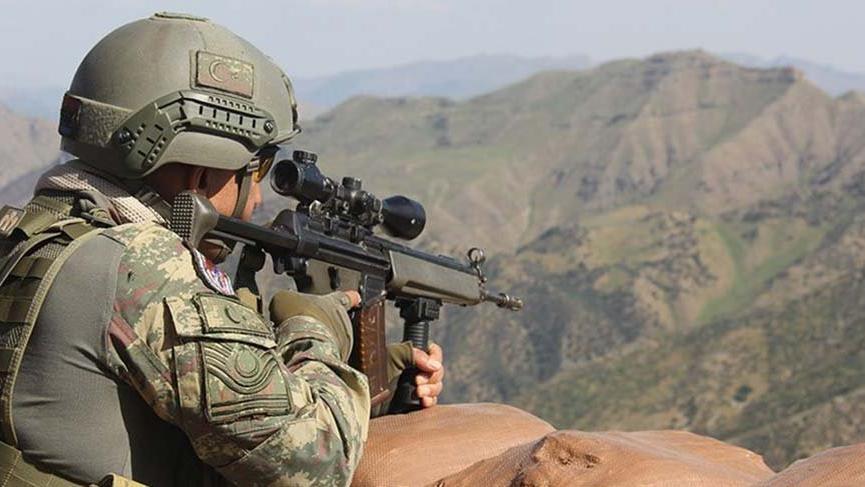PKK'lı terörist MİT-TSK operasyonunda öldürüldü