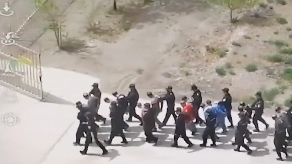 İşte Türklere yönelik zulmün görüntüleri