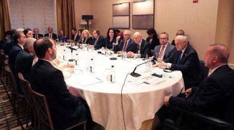 Erdoğan ABD'de Yahudi kuruluş temsilcileriyle buluştu