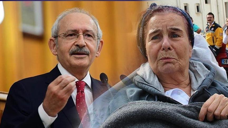 Kemal Kılıçdaroğlu Fatma Girik'i hastanede ziyaret etti!