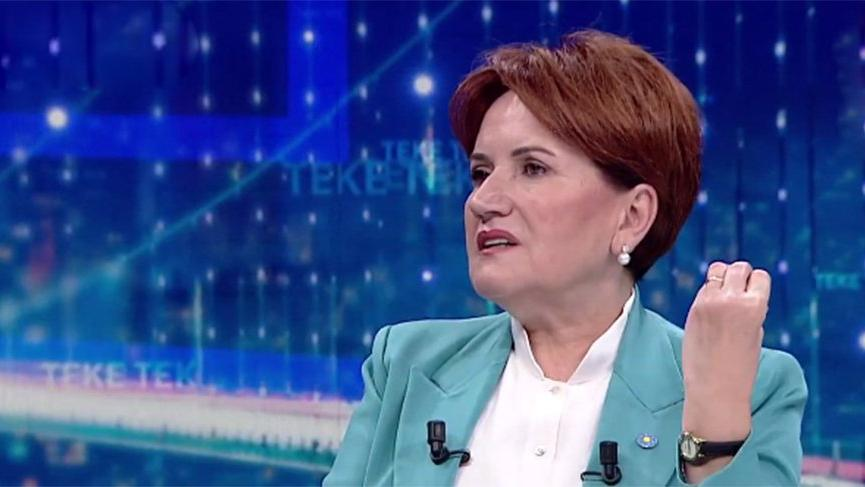 Akşener: Erdoğan 2023'te seçilemez