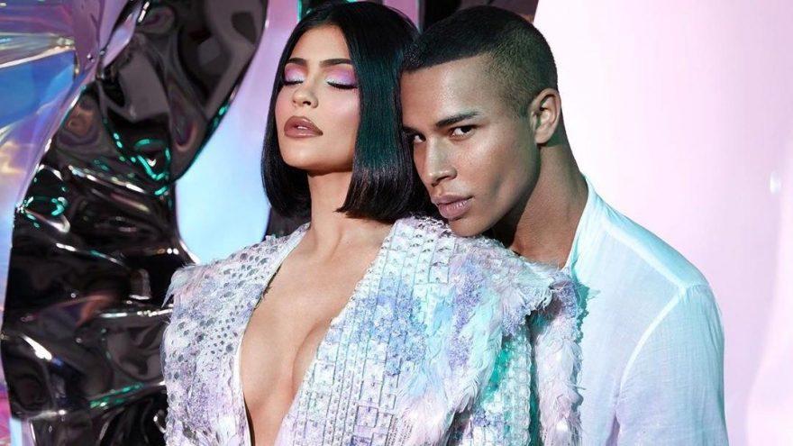 Kylie Jenner ve Balmain'den sürpriz işbirliği