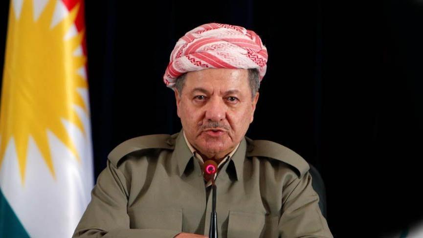 Barzani'den 'akıllanmadığını gösteren' mesaj