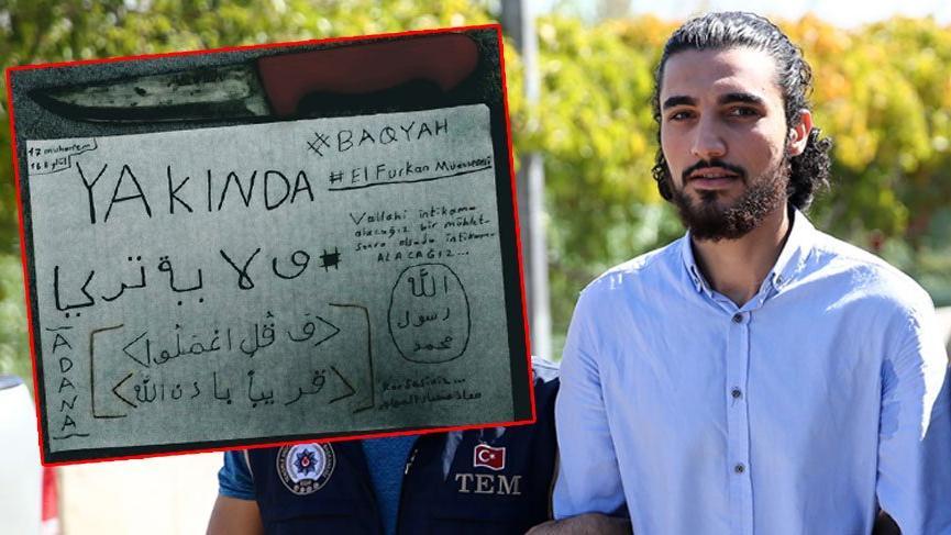 'İntikam' yemini eden IŞİD'li tutuklandı