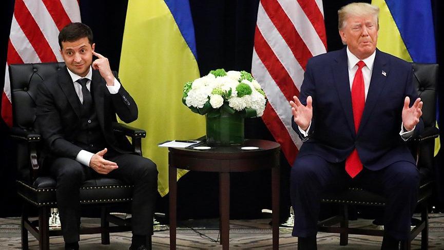 Eleştirilerin odağındaki Trump ve Zelenskiy buluştu!