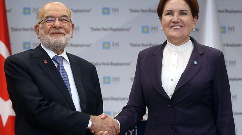 Karamollaoğlu ve Akşener'den erken seçim açıklaması!