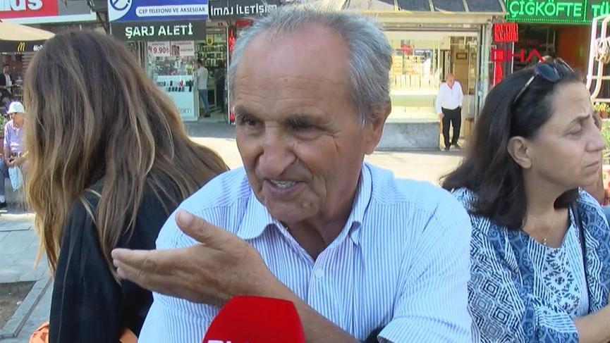Beşiktaş'ta deprem anını yaşayanlar o anları anlattı!