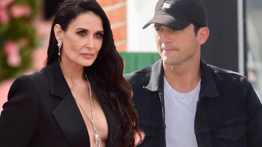 Ashton Kutcher Demi Moore'un 'Çok eşlilik' iddialarına yanıt verdi