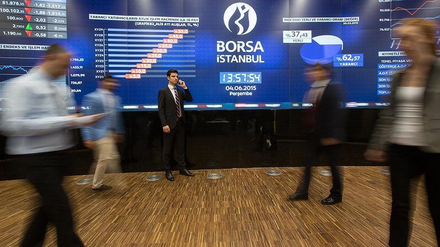 Borsa yabancı alımlarıyla yükseldi