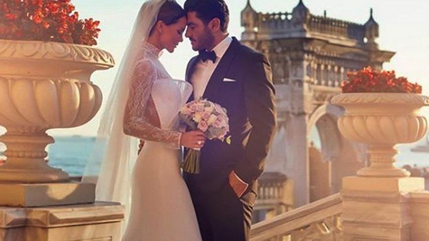 Ebru Şallı, sevgilisi Uğur Akkuş ile evlendi