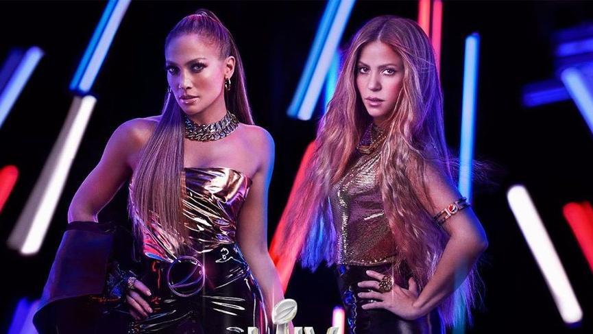 Jennifer Lopez ve Shakira Super Bowl LIV 2020'de sahne alacak