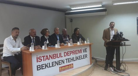 TMMOB: İstanbul depreme hazır değil, afet kültürümüz yok