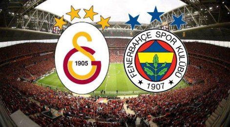Süper Lig'de derbi günü: Galatasaray Fenerbahçe maçı saat kaçta? İşte derbinin saati ve kanalı!
