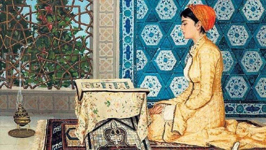 Osman Hamdi Bey'in Kur'an Okuyan Kız tablosuna rekor fiyat