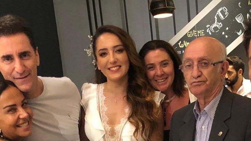 Bekir Aksoy ve eski eşi Nişantaşı'nda pişti oldu