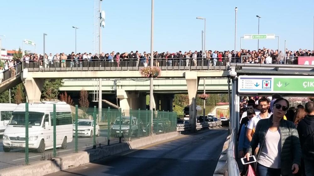 30 Eylül 2019 metrobüs çilesinin nedeni belli oldu!