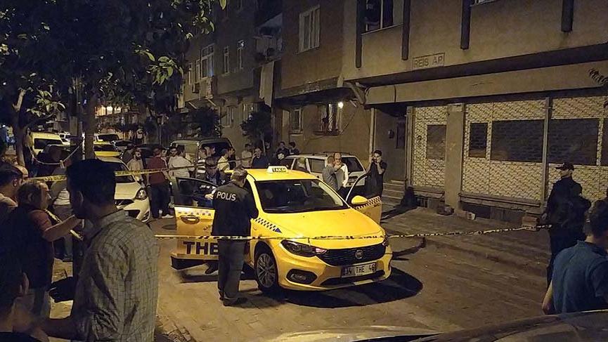 İstanbul'da gaspçı taksicinin boğazını kesti