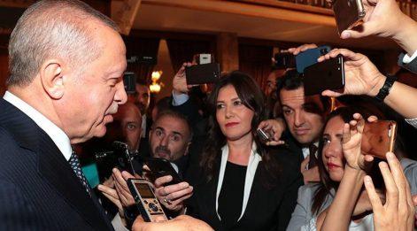 Erdoğan: Kabine revizyonu sorusuna yanıt verdi