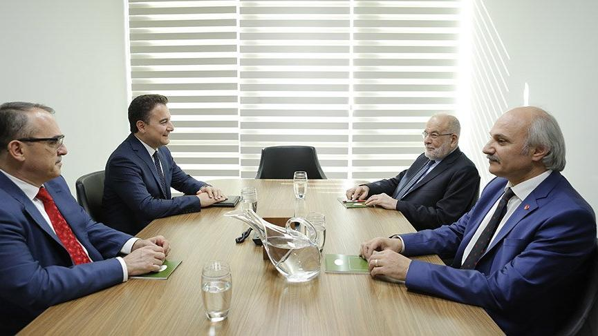 Babacan ve Karamollaoğlu toplantısı 2 saat sürdü!