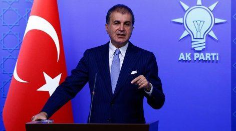 AKP'li Çelik: Bu yükü sonsuza kadar çekme gibi bir kapasiteye sahip değiliz