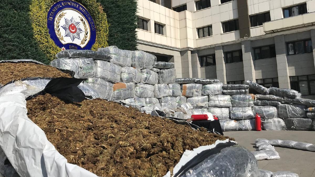 İstanbul'da 15 günde 44 milyonluk uyuşturucu ele geçirildi