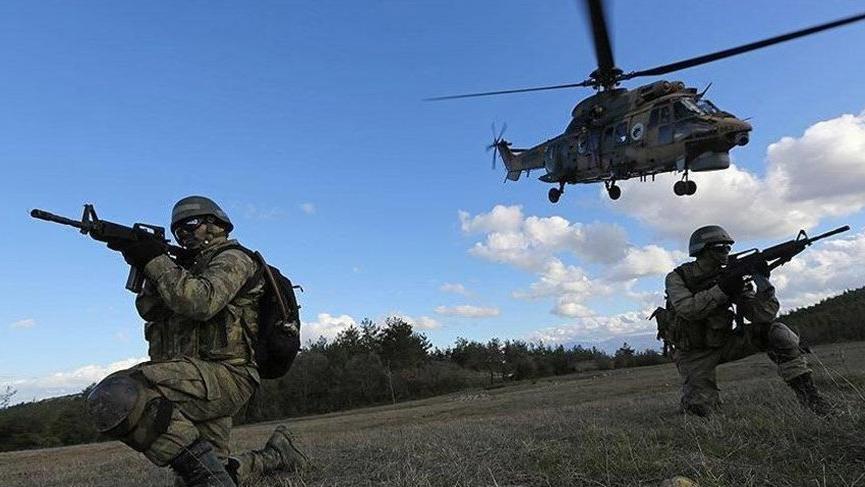 Düzenlenen operasyonlarda çok sayıda terörist etkisiz hale getirildi