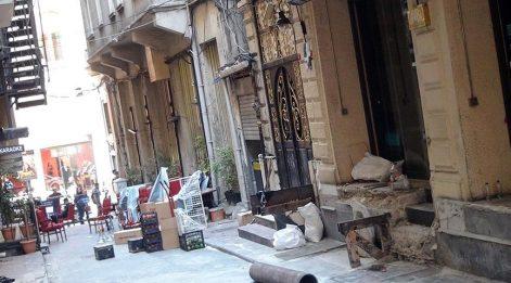 Beyoğlu'nda dükkanlar da boşaltılıyor!