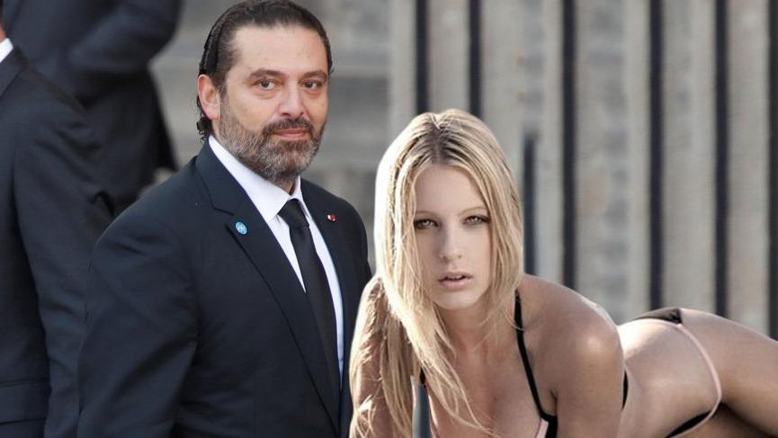 Saad Hariri'nin model Candice van der Merwe'ye 16 milyon dolar verdiği iddia ediliyor