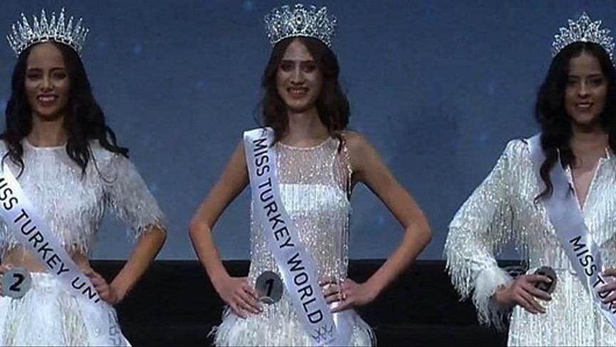 Miss Turkey 2019 birincisi Simay Rasimoğlu