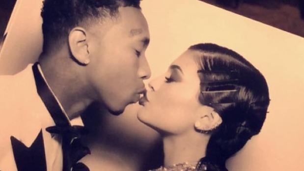 Kylie Jenner eski sevgilisini unutamadı
