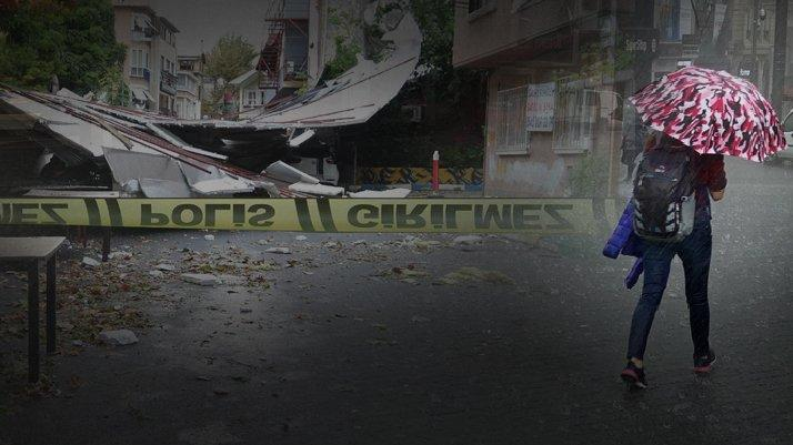 İstanbul fırtınaya teslim!