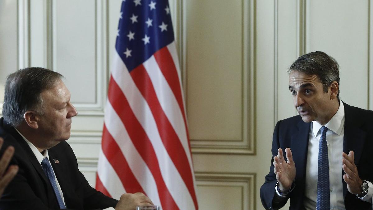 Uluslararası basın bu kareyi konuşuyor... Yunan Başbakan bizi ABD'ye böyle şikayet etti
