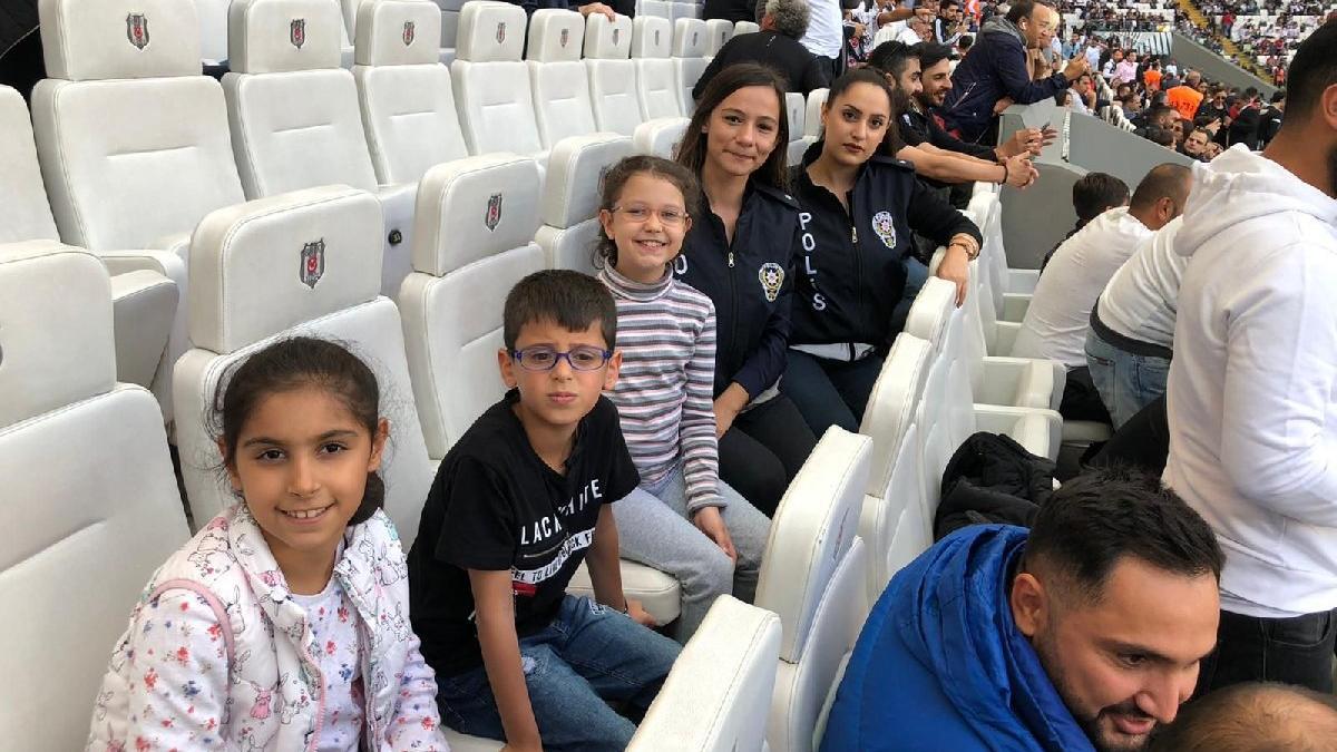 İstanbul Emniyeti, minik kahramanların hayalini gerçekleştirdi