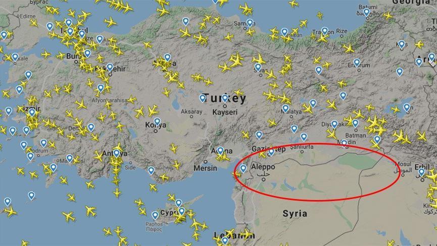 ABD kontrol ettiği Kuzey Suriye'nin hava sahasını Türkiye'ye kapattı