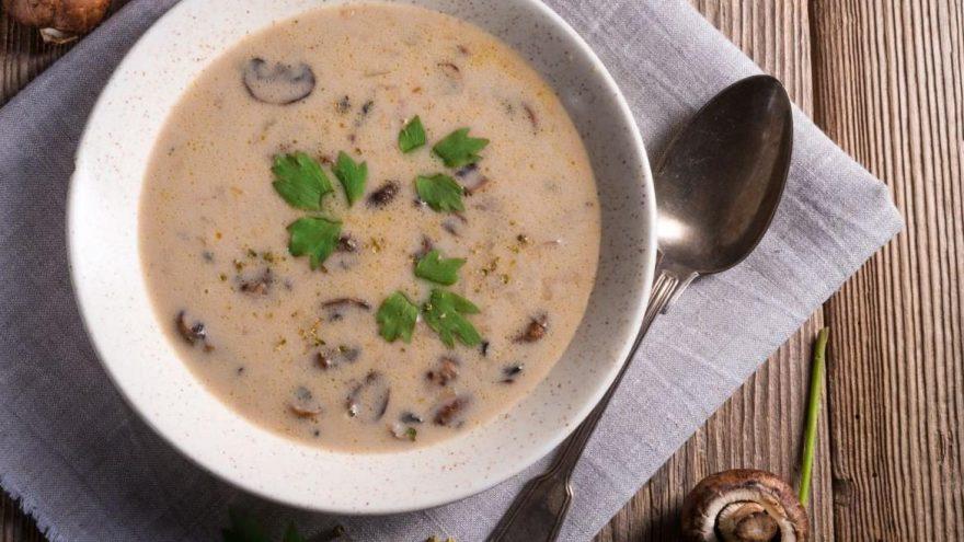 Mantar çorbası tarifi: Ev yapımı mantar çorbası nasıl yapılır?