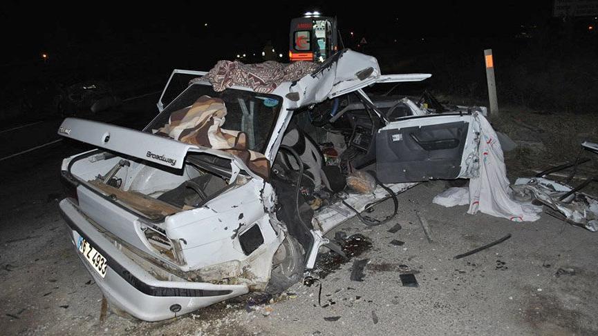 Bursa'da korkunç kaza! 2 ölü, 2 yaralı