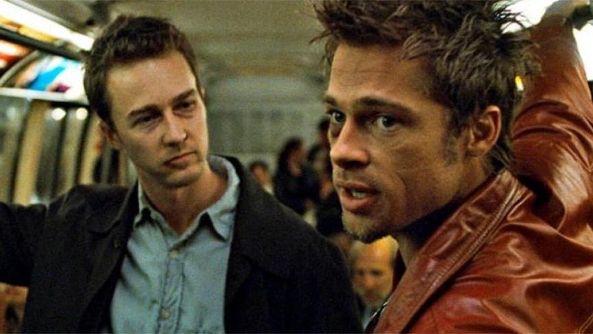 Edward Norton: Brad Pitt'e yumruk attım