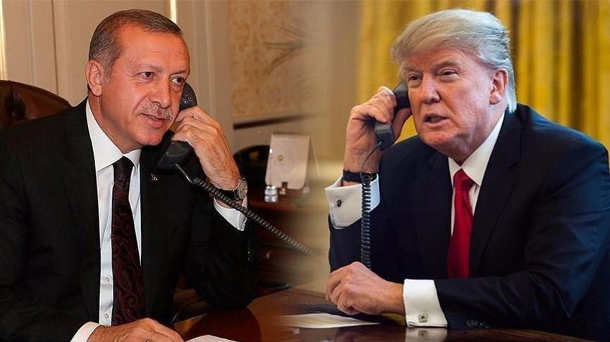 Reuters duyurdu: Erdoğan-Trump görüşmesinde o iki isim de vardı