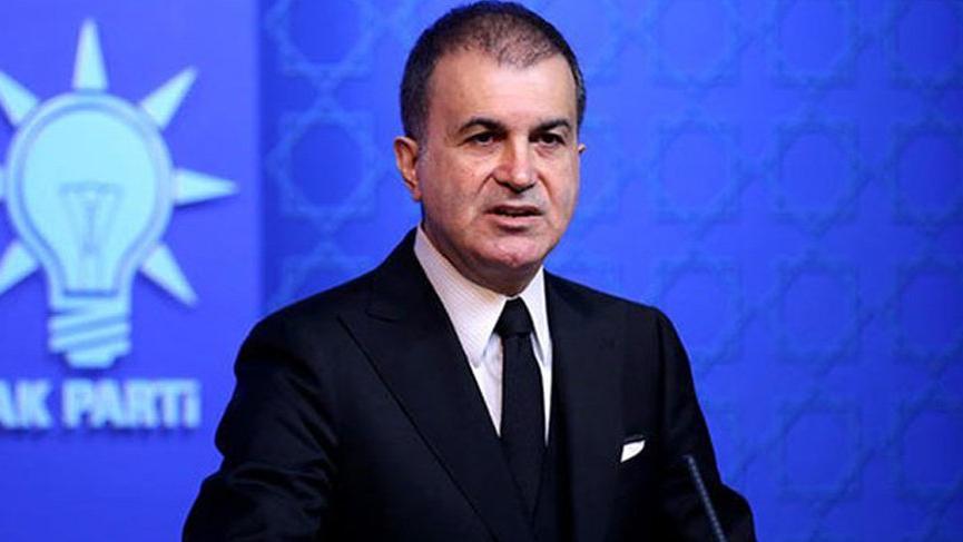 AKP Sözcüsü Çelik: Bu tipik bir PKK taktiğidir