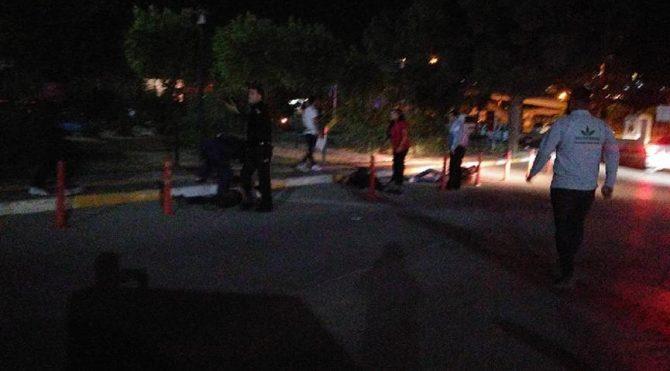 Hastane önünde silahlı çatışma: 1 ölü 3 ağır yaralı